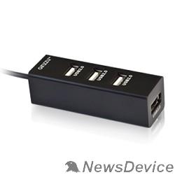 Контроллер HUB GR-474UB Ginzzu USB 2.0 4 port, 1,1m cable