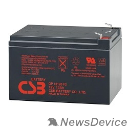батареи CSB Батарея GP12120 (12V/12Ah)  F2