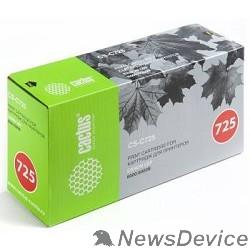Расходные материалы CACTUS Cartridge 725S Картридж (CS-C725) для принтеров CANON LBP6000/6000В (1600 стр.)
