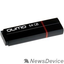 Носитель информации USB 3.0 QUMO 64GB Speedster QM64GUD3-SP-black