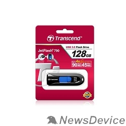 Носитель информации Transcend USB Drive 128Gb JetFlash 790 TS128GJF790K USB 3.0