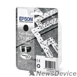 Расходные материалы EPSON C13T13614A10 T1361 Картридж  для EPSON K101 / К201 / К301, (2*25 мл.) Black (cons ink)
