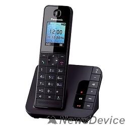 "Телефон Panasonic KX-TGH220RUB  (черный) АОН, Caller ID, ""Радионяня"""