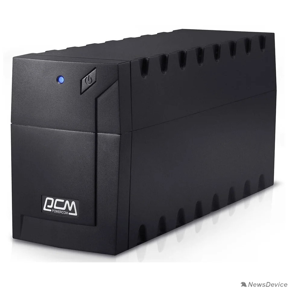 ИБП UPS PowerCom RPT-800A EURO Line-Interactive, 800VA / 480W, Tower, Schuko