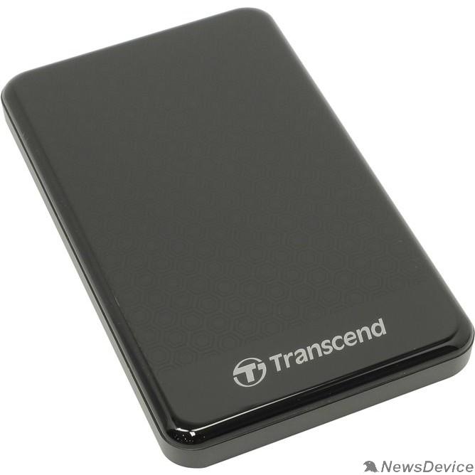 "Носитель информации Transcend Portable HDD 2Tb StoreJet TS2TSJ25A3K USB 3.0, 2.5"", black"