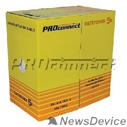 Кабель Proconnect (01-0154)  Кабель FTP CAT5e 4 пары (305м) 0.51 мм OUTDOOR