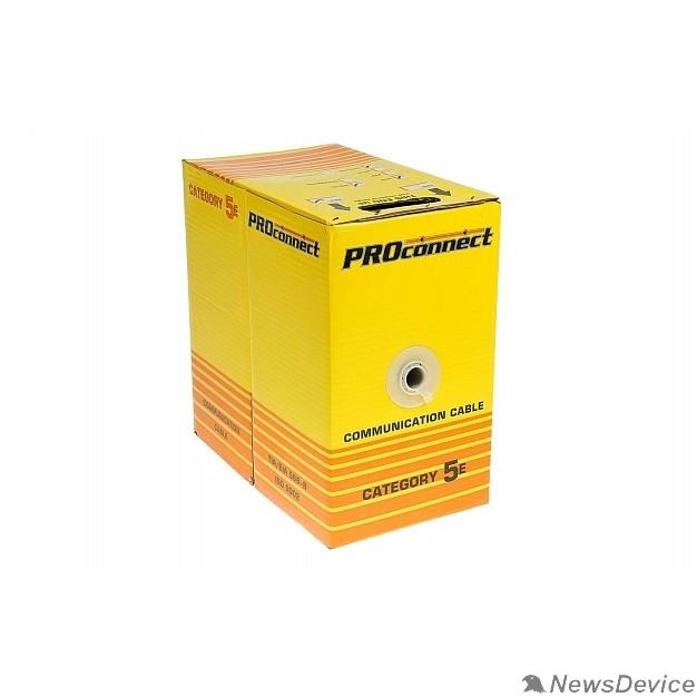Кабель Proconnect (01-0045-3) Кабель UTP CAT5 4 пары (305м) 0.51мм OUTDOOR CCA