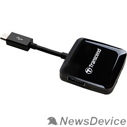 Устройство считывания USB 2.0 Multi-Card Reader P9 All in 1 Transcend TS-RDP9K Black