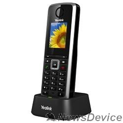 """VoIP-телефон YEALINK W52H DECT Беспроводной телефон (трубка), HD звук, до 5 аккаунтов, цветной LCD-дисплей 1.8"""", поддержка PoE"""