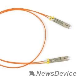 Патч-корд Hyperline FC-D2-50-LC/PR-LC/PR-H-1M-LSZH-OR (FC-50-LC-LC-PC-1M) Патч-корд волоконно-оптический (шнур) MM 50/125, LC-LC, duplex, LSZH, 1 м