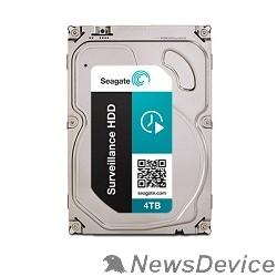 Жесткий диск 4TB Seagate Surveillance (ST4000VX000) SATA 6 Гбит/с, 5900 rpm, 64 mb buffer, для видеонаблюдения