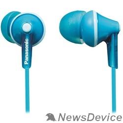 Телефон Panasonic RP-HJE125E-Z Наушники Panasonic/ внутриканальные 10-24000Гц 1.1м 3.5мм 97дБ голубые
