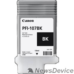 Расходные материалы Canon PFI-107BK 6705B001 Картридж для  iPF680/685/770/780/785, Черный, 130ml  (GJ)