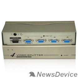 Разветвитель VCOM VDS8016 Разветвитель VGA 1->4-port (VGA15M+4VGA15F)+б.п.
