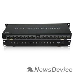 Разветвитель VCOM DD4116 Разветвитель HDMI Spliitter 1=>16 3D Full-HD 1.4v, каскадируемый