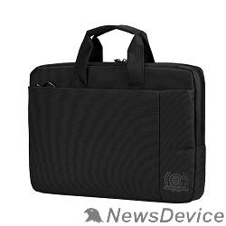 Сумка для ноутбука Сумка Continent  CC-215 BK (полиэстр, черный  15,6'')
