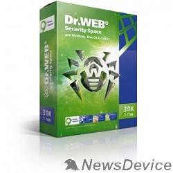 Программное обеспечение ПО DR.Web Security Space 3 ПК/1 год (BHW-B-12M-3-A3/AHW-B-12M-3-A2) 351297