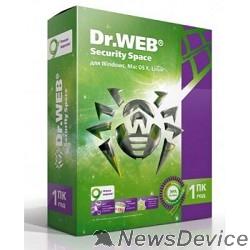 Программное обеспечение ПО DR.Web Security Space 1 ПК/1 год (BHW-B-12M-1-A3) 351280