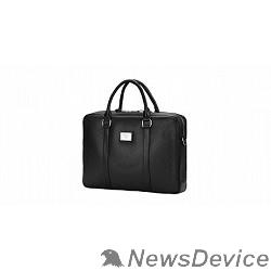 """Сумка для ноутбука Сумка Continent  CM-122 Black  полиэстр/эко кожа, черная 15.6"""""""