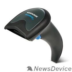 Datalogic сканеры штрих-кодов Datalogic QuickScan Lite QW2100 QW2120-BKK1S Чёрный Сканер штрихкодов (ручной, имидж, кабель USB, подставка)