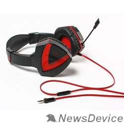 Наушники A4 Bloody G500, черный/красный  Наушники с микрофоном, 2.2м