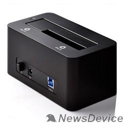 "Док-станции для HDD ORICO 6619US3-BK Док-станция для HDD ORICO 6619US3; 1-bay 3.5""/2.5"" HDD 4TB Max (черный)"