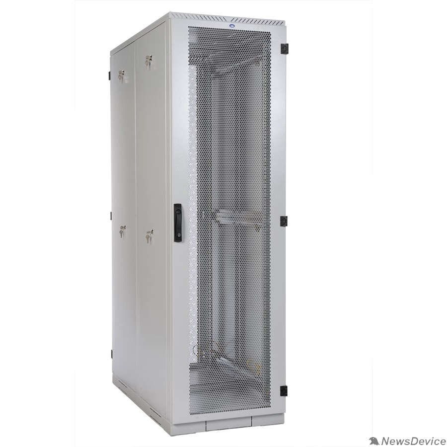 Монтажное оборудование ЦМО Шкаф серверный напольный 42U (800x1200) дверь перфорированная 2 шт. (ШТК-С-42.8.12-44АА) (3 коробки)