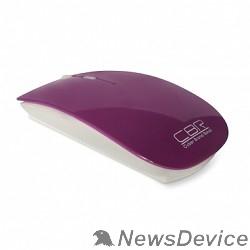Мышь CBR CM-700 Purple USB, Мышь 800/1200/1600dpi, 2,4 Ггц, глянец, slim-корпус