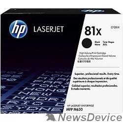 Расходные материалы HP CF281X Картридж, Black LJ ENTERPRISE MFP M630, (25000стр.)