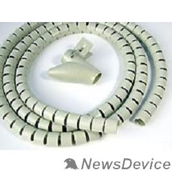 Монтажное оборудование Hyperline SHW-25 Пластиковый спиральный рукав для кабеля д.25 мм (2 м) и инструмент ST-25