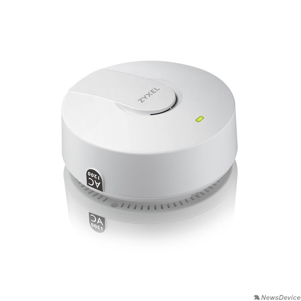 Сетевое оборудование ZYXEL NWA1123-ACV2-EU0101F Гибридная точка доступа NebulaFlex NWA1123-AC v2, 802.11n/ac (2,4 и 5 ГГц), антенны 2x2, до 300+866 Мбит/с, 1xLAN GE, PoE, БП в комплекте