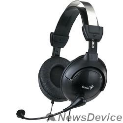 Наушники GENIUS HS-M505X черный 31710058101 Наушники с микрофоном, 1.5м