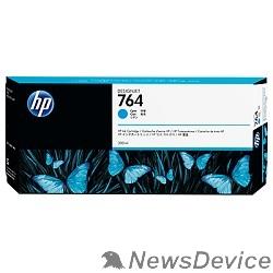 Расходные материалы HP C1Q13A Картридж №764 голубой HP Designjet T3500