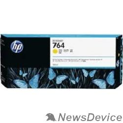 Расходные материалы HP C1Q15A Картридж №764 желтый HP Designjet T3500 (300мл)