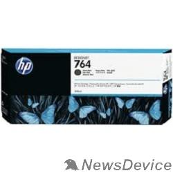 Расходные материалы HP C1Q16A Картридж №764 черный матовый Designjet T3500 (300мл)