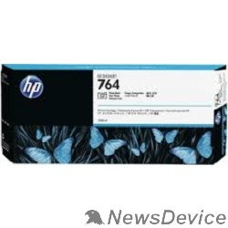 Расходные материалы HP C1Q17A Картридж №764 фото черный HP Designjet T3500 (300мл)