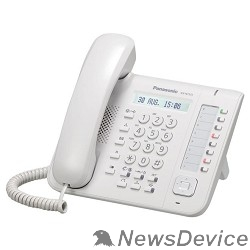 VoIP-телефон Panasonic KX-NT551RU Телефон системный IP белый