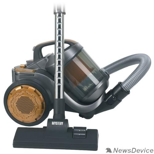 Пылесос MYSTERY MVC-1121 new Пылесос, циклонный фильтр, 1600 Вт, чёрный
