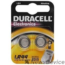 Батарейки Duracell LR44-2BL (2 шт. в уп-ке)