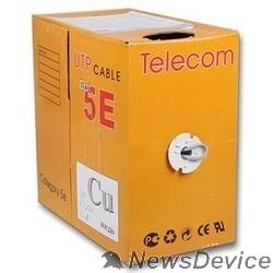 Кабель Telecom CU UTP 4 пары кат. 5e <UTP4-TC1000C5EN-CU-IS / UTP4-TC1000C046m-5E-CU-IS  enlarge PVC> 0,46mm  (бухта 305м)