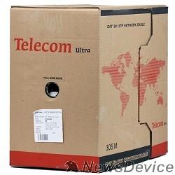 Кабель Telecom Кабель Ultra Base UTP кат.5e 4 пары (305м) (0.48mm) CCA серый TUS44048E