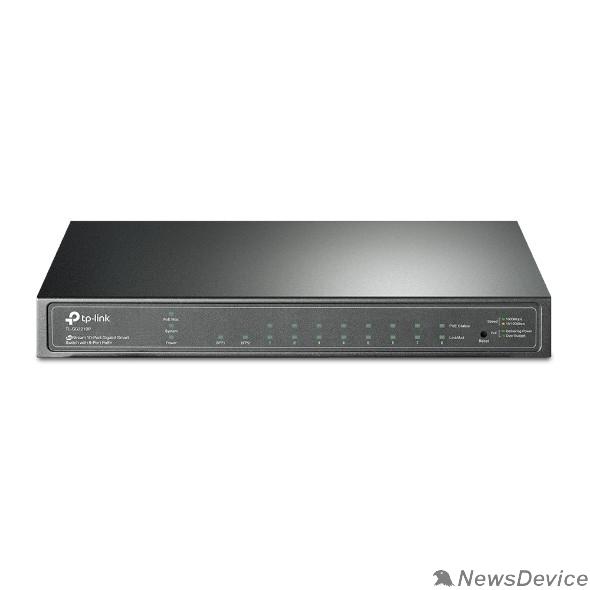 Сетевое оборудование TP-Link TL-SG2210P JetStream гигабитный 8-портовый Smart коммутатор PoE с 2 SFP-слотами SMB