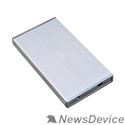 """Контейнер для HDD AgeStar SUB2S (SILVER) External box for 2.5""""HDD SATA, AgeStar SUB2S, silver 04293"""