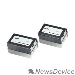 Переключатель ATEN VE800A-(AT-G) Удлинитель, HDMI, 60 метр., 2xUTP Cat5e,HDMI+2xRJ45,F,без шнуров,2x Б.П. 220> 5V, (по витой паре;до 1920x1200 60Hz;HDTV480p/720p/1080i/1080p;HDMI 3D/Deep Color;подд. Dolby True HD