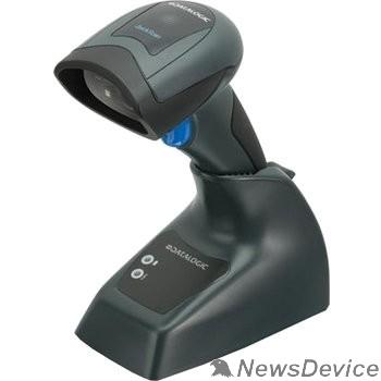 Datalogic сканеры штрих-кодов Datalogic QuickScan QBT2430 QBT2430-BK-BTK1 Чёрный Сканер ШК (2D имидж, bluetooth, черный)  зарядно/коммуникационная база, кабель USB