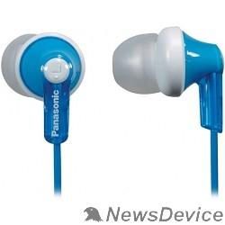 Наушники Panasonic RP-HJE 118 GUA вкладыши канальные, голубые - фото 520938