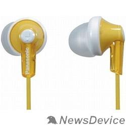 Наушники Panasonic RP-HJE 118 GUY вкладыши канальные, желтые