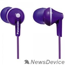 Наушники Panasonic RP-HJE 125 E-V вкладыши канальные, фиолетовые - фото 520944