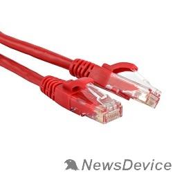 Патч-корд Hyperline PC-LPM-UTP-RJ45-RJ45-C5e-0.5M-LSZH-RD Патч-корд U/UTP, Cat.5e, LSZH, 0.5 м, красный