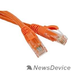 Патч-корд Hyperline PC-LPM-UTP-RJ45-RJ45-C5e-0.5M-LSZH-OR Патч-корд U/UTP, Cat.5е, LSZH, 0.5 м, оранжевый